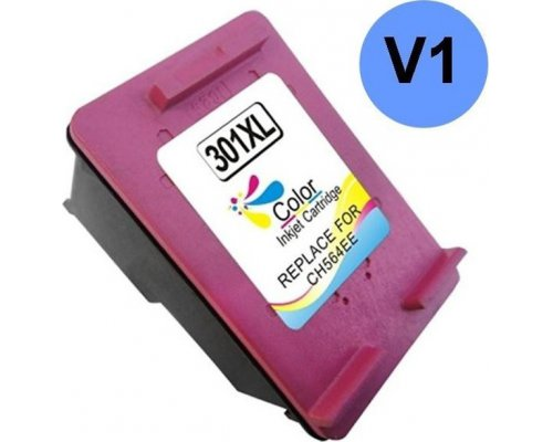 CARTUCHO COMPATIBLE HP 301XL V1 TRICOLOR