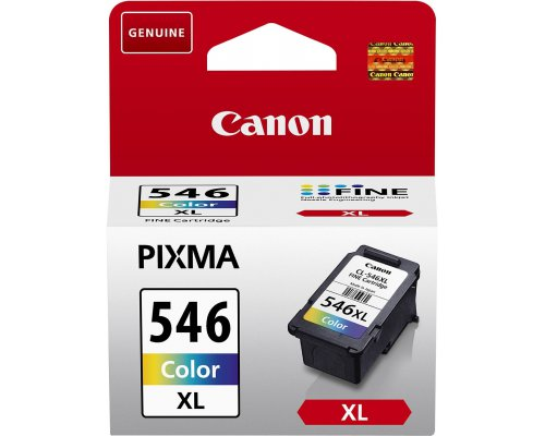 CARTUCHO ORIGINAL CANON CL-546XL TRICOLOR