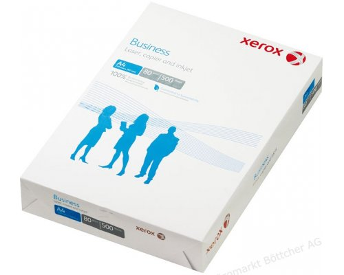 PAQUETE PAPEL 500 FOLIOS XEROX BUSINESS A4 80gr
