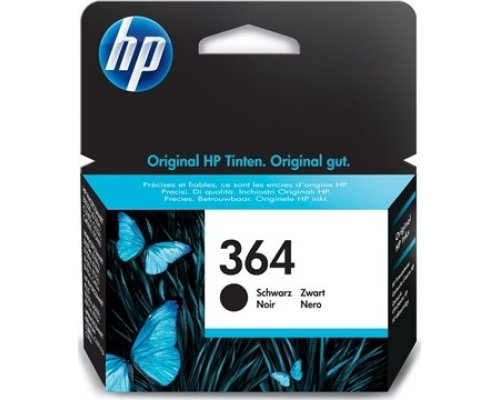 CARTUCHO ORIGINAL HP 364 NEGRO (CB316EE)