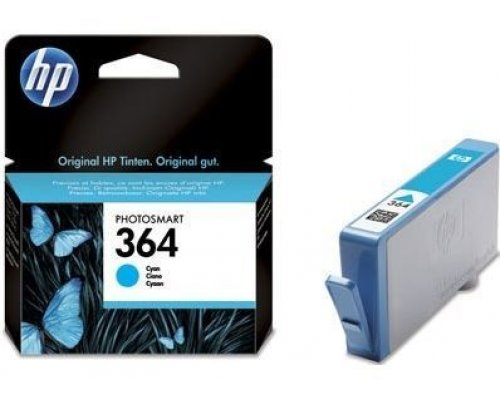 CARTUCHO ORIGINAL HP 364 CIAN (CB318EE)