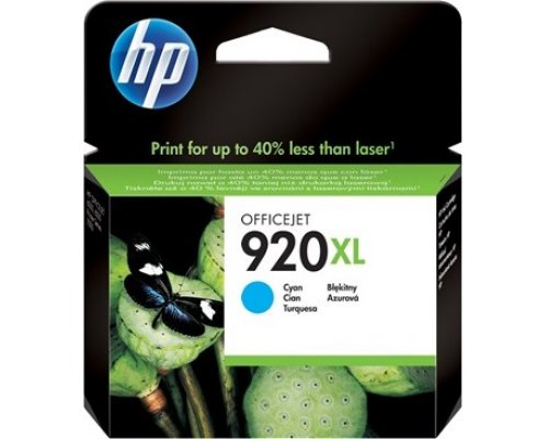 CARTUCHO ORIGINAL HP 920XL CIAN (CD972AE)
