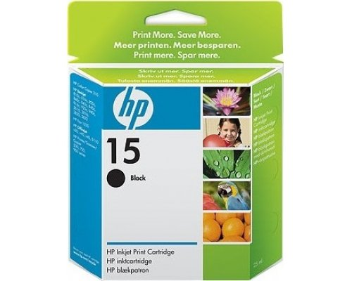 CARTUCHO ORIGINAL HP 15XL NEGRO (C6615DE)