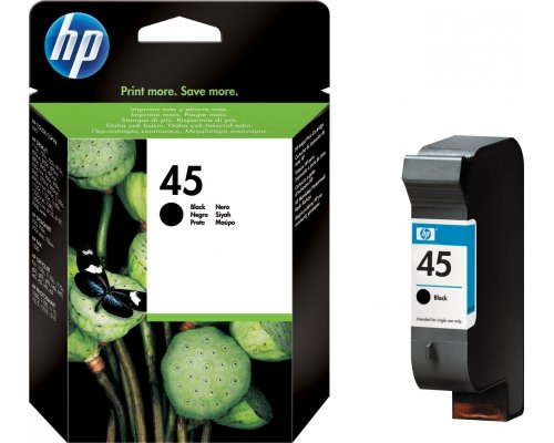 CARTUCHO ORIGINAL HP 45XL NEGRO (51645AE)