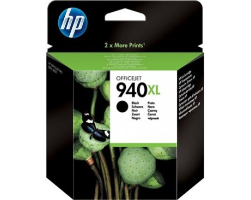 CARTUCHO ORIGINAL HP 940XL NEGRO (C4906AE)