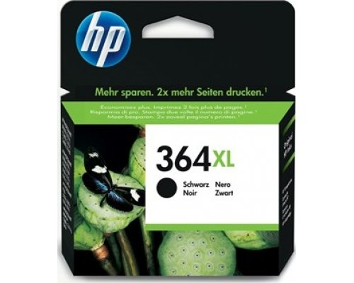 CARTUCHO ORIGINAL HP 364XL NEGRO (CN684EE)