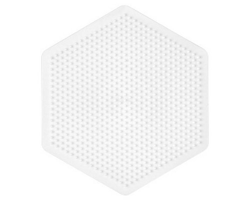 BASE PEGBOARD HAMA MIDI BEADS HEXAGONAL