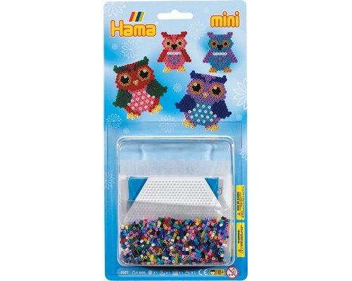 PACK HAMA MINI BUHOS 2000 + PLACA HEXAGONAL + PAPEL