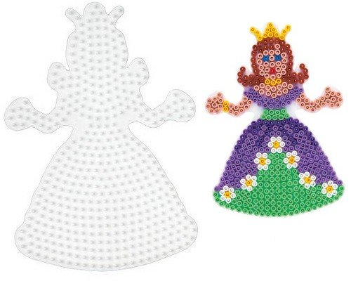 BASE PEGBOARD HAMA MIDI BEADS PRINCESA