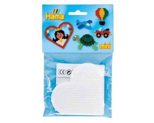 BASE PEGBOARD HAMA MINI CORAZON PACK 2