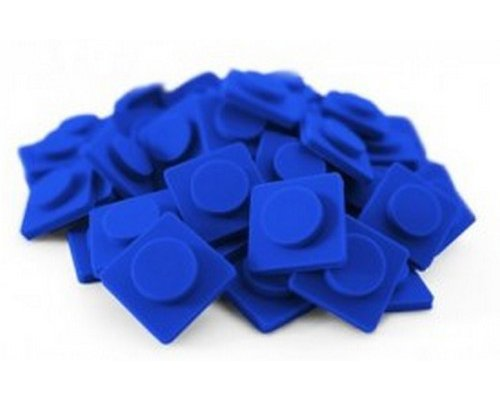 PIXEL CHIPS GRANDES AZUL OSCURO M