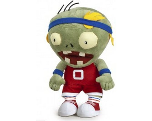 PELUCHE ZOMBI DEPORTISTA 25cm (PLANTS VS ZOMBIES)