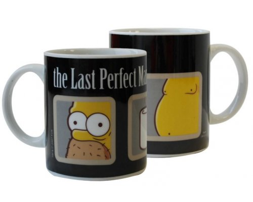 TAZA HOMER THE LAST PERFECT MAN (LOS SIMPSON)