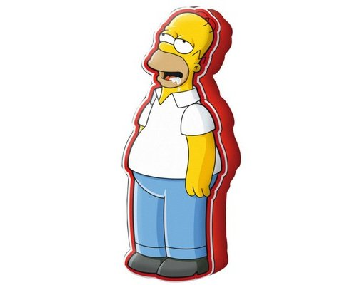 COJÍN BIG HOMER (LOS SIMPSON) 50cm