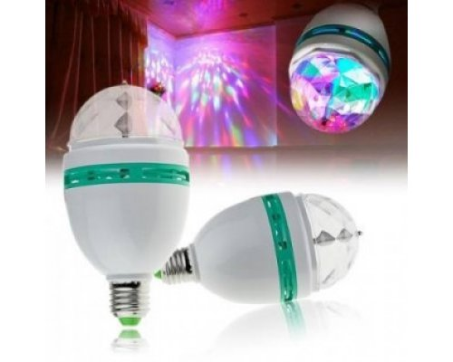 BOMBILLA LED DISCO 3W