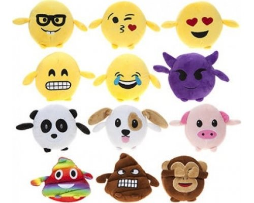 MINI PELUCHE EMOTICONO 13cm
