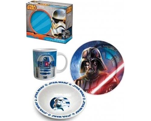 SET DESAYUNO DARK SIDE (STAR WARS EPISODIO VII)
