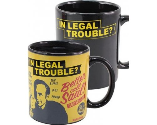 TAZA BETTER CALL SAUL SENSIBLE CALOR IN LEGAL