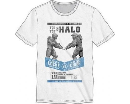 Halo 5 Camiseta Fight Poster talla XL