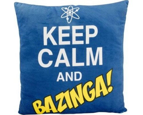 COJÍN BIG BANG THEORY: BAZINGA 40cmx40cm
