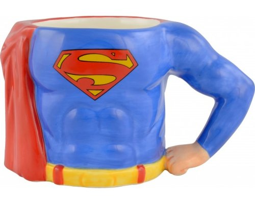 TAZA SUPERMAN (3D BODY) 350ml