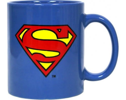 TAZA SUPERMAN (EMBLEMA) 280ml