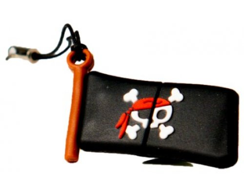 PENDRIVE ORIGINAL 16GB BANDERA PIRATA