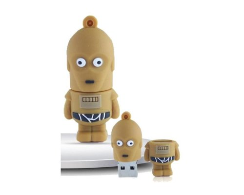 PENDRIVE ORIGINAL 16GB STAR WARS C-3PO