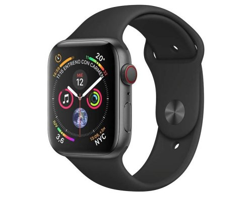 APPLE WATCH SERIES 4 GPS+CELL 44mm SPACE GREY CORREA