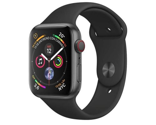 APPLE WATCH SERIES 4 GPS+CELL 40mm SPACE GREY CORREA NEGRA