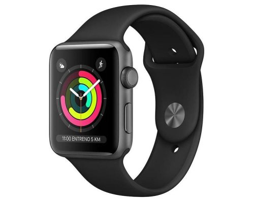 APPLE WATCH SERIES 3  42mm SPACE GREY CORREA DEPORTIVA
