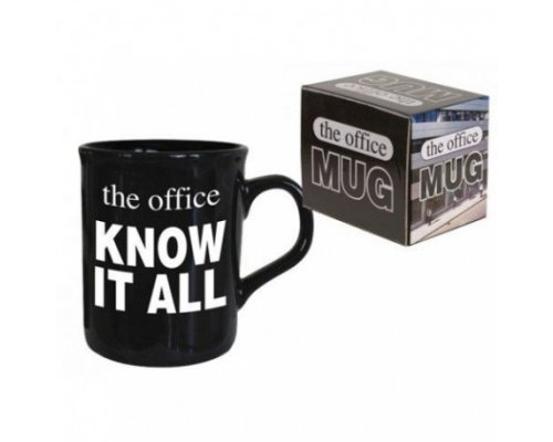 TAZA THE OFFICE KNOW IT ALL 300ml
