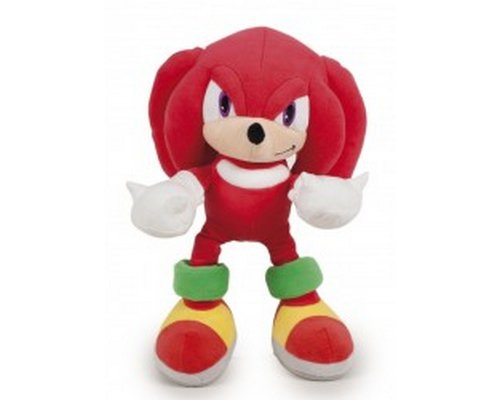 PELUCHE SONIC THE HEDGEHOG: KNUCKLES 30cm