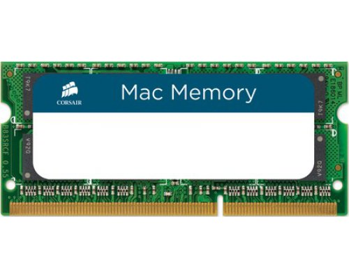 MEMORIA RAM SODIMM DDR3 1066 CORSAIR 4GB APPLE QUALIFIED