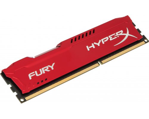 MEMORIA RAM DDR3 1600 KINGSTON HYPERX FURY RED 4GB