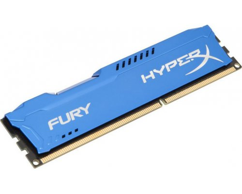 MEMORIA RAM DDR3 1600 KINGSTON HYPERX FURY BLUE 8GB HX316C10