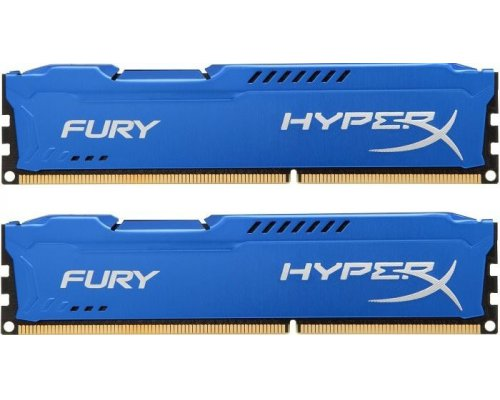MEMORIA RAM DDR3 1866 KINGSTON HYPERX FURY BLUE 2x8GB
