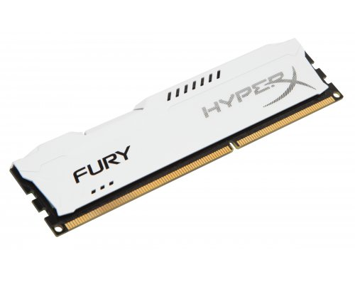 MEMORIA RAM DDR3 1600 KINGSTON HYPERX FURY WHITE 4GB