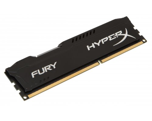 MEMORIA RAM DDR3 1600 KINGSTON HYPERX FURY BLACK 8GB