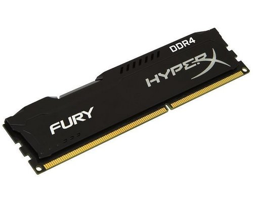 MEMORIA DDR4 2400 KINGSTON HYPERX FURY BLACK 4GB