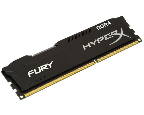 MEMORIA DDR4 2666 KINGSTON HYPERX FURY BLACK 4GB