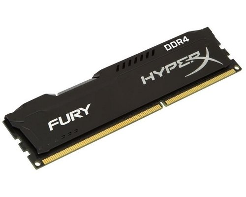 MEMORIA DDR4 2666 KINGSTON HYPERX FURY BLACK 8GB