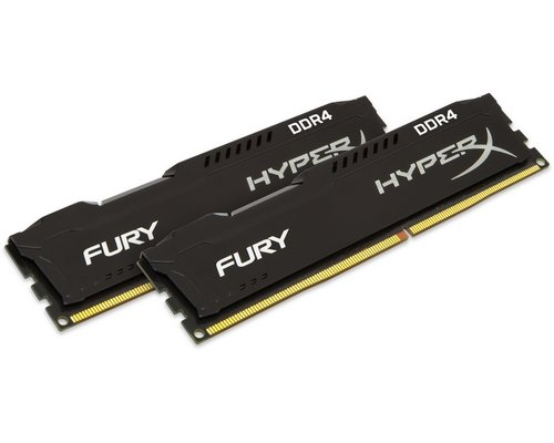 MEMORIA DDR4 2133 KINGSTON HYPERX FURY 2X4GB