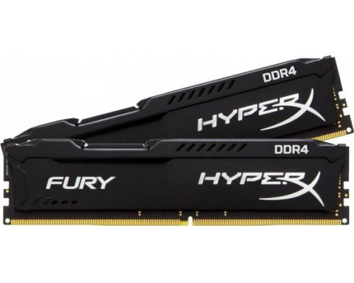 MEMORIA DDR4 2400 KINGSTON HYPERX FURY BLACK 2x4GB