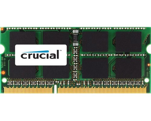CRUCIAL 4GB SO-DIMM DDR-3 (PORTATIL) 1600MHZ (SINGLE SIDE)