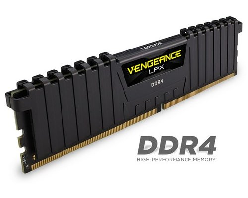 MEMORIA DDR4 2666 CORSAIR VENGEANCE LPX BLACK 8GB