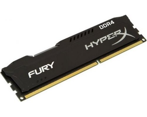 MEMORIA DDR4 2400 KINGSTON HYPERX FURY BLACK 8GB