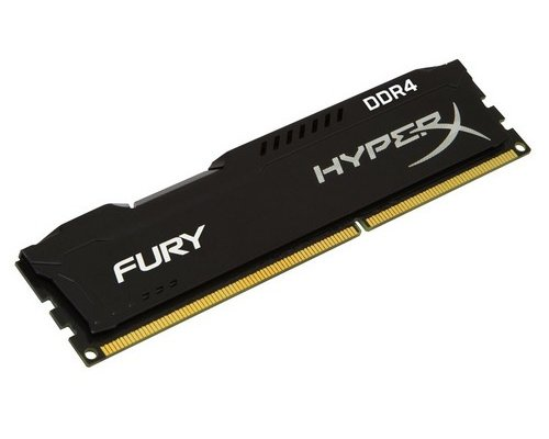 MEMORIA DDR4 2133 KINGSTON HYPERX FURY BLACK 16GB