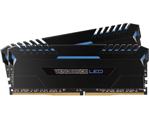 MEMORIA DDR4 3000 CORSAIR VENGEANCE BLUE LED 2x16GB