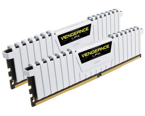 MEMORIA DDR4 3000 CORSAIR VENGEANCE LPX WHITE 2x8GB